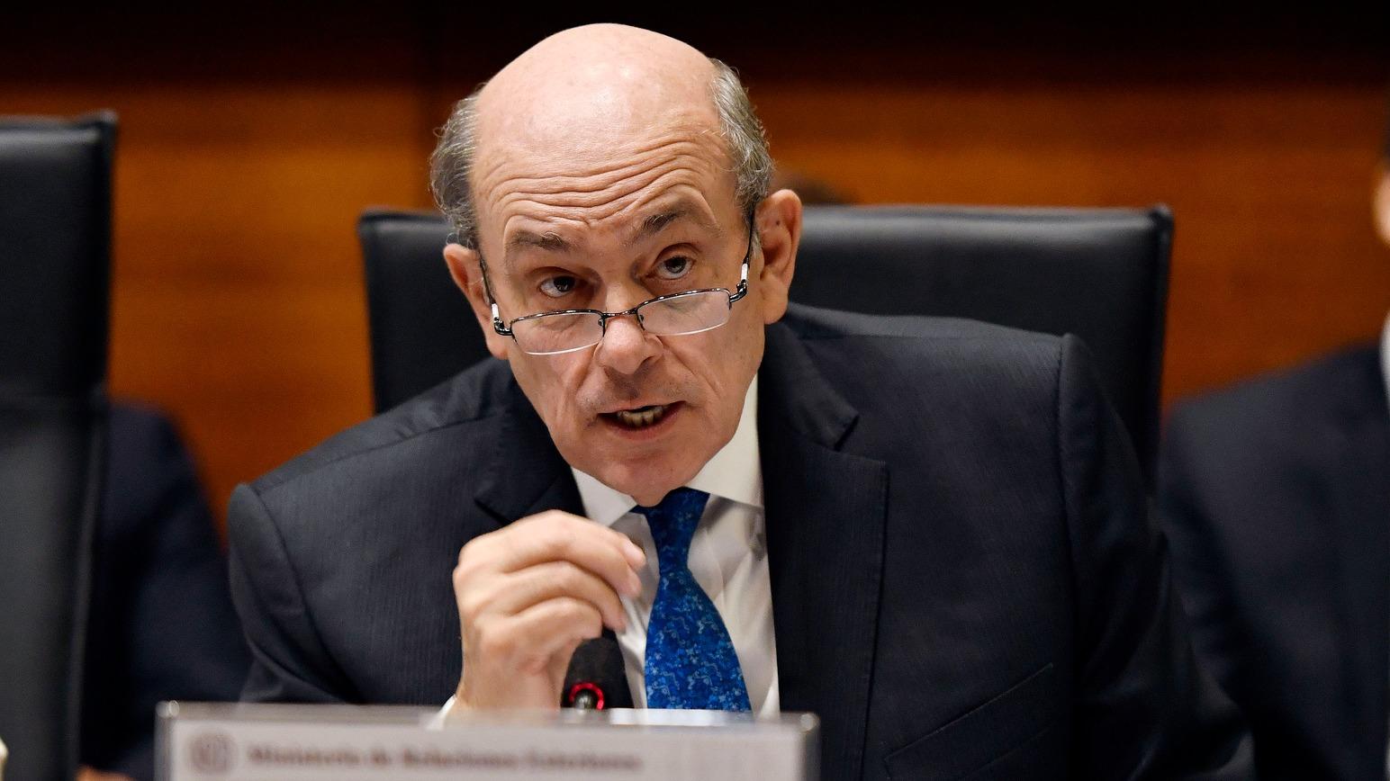 El vicecanciller participó de la reunión del Grupo de Lima.