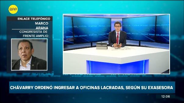 Entrevista con Marco Arana en RPP.