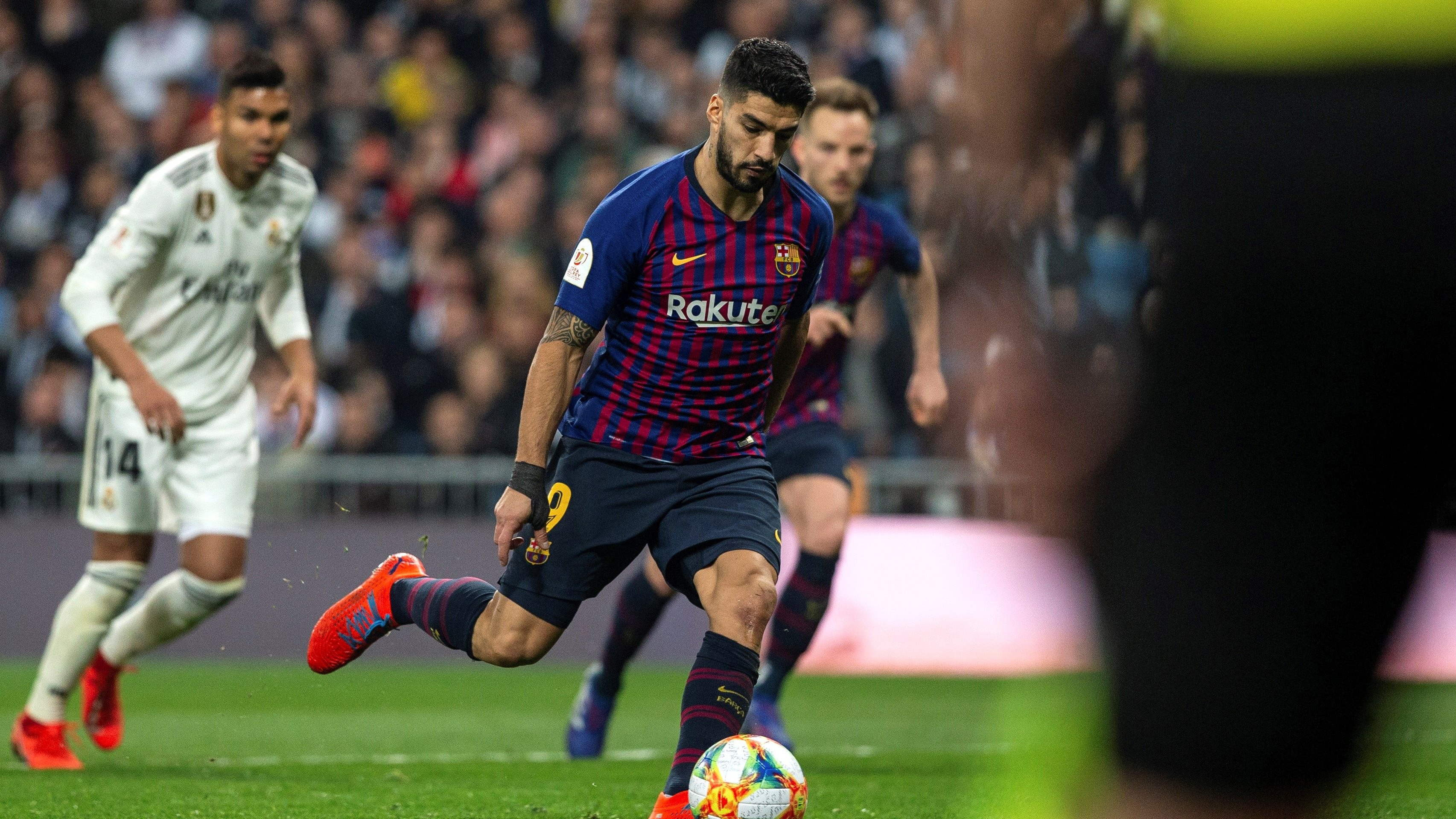 Barcelona ganó 3-0 a Real Madrid por la Copa del Rey