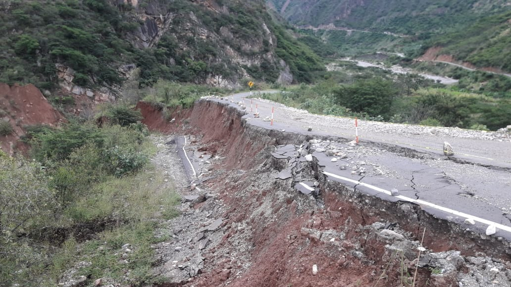 La lluvia torrencial que soporta el ande de La Libertad, causó también el crecimiento de los ríos Anchique y Huacrachuco.