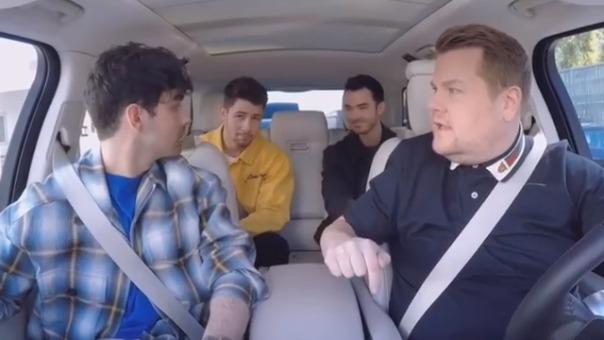 Así anunciaron su reunión Joe, Kevin y Nick Jonas.