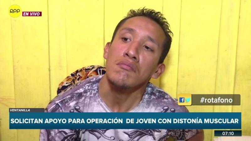 Ricardo Rodríguez (27) contó su caso a través del Rotafono.