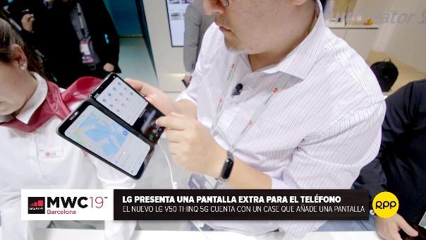 [VIDEO] Así funciona la doble pantalla en el LG V50
