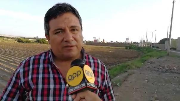 El alcalde de Moche, Arturo Fernández, eligieron la campiña porque los rayos UV  son los mejores para la cosecha de un cannabis sativa de calidad.