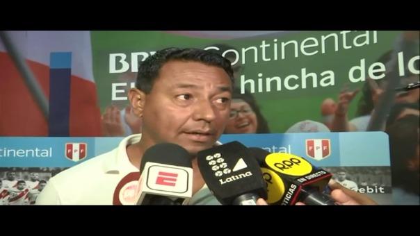Nolberto Solano participará en su tercera Copa América como asistente de la Selección Peruana.