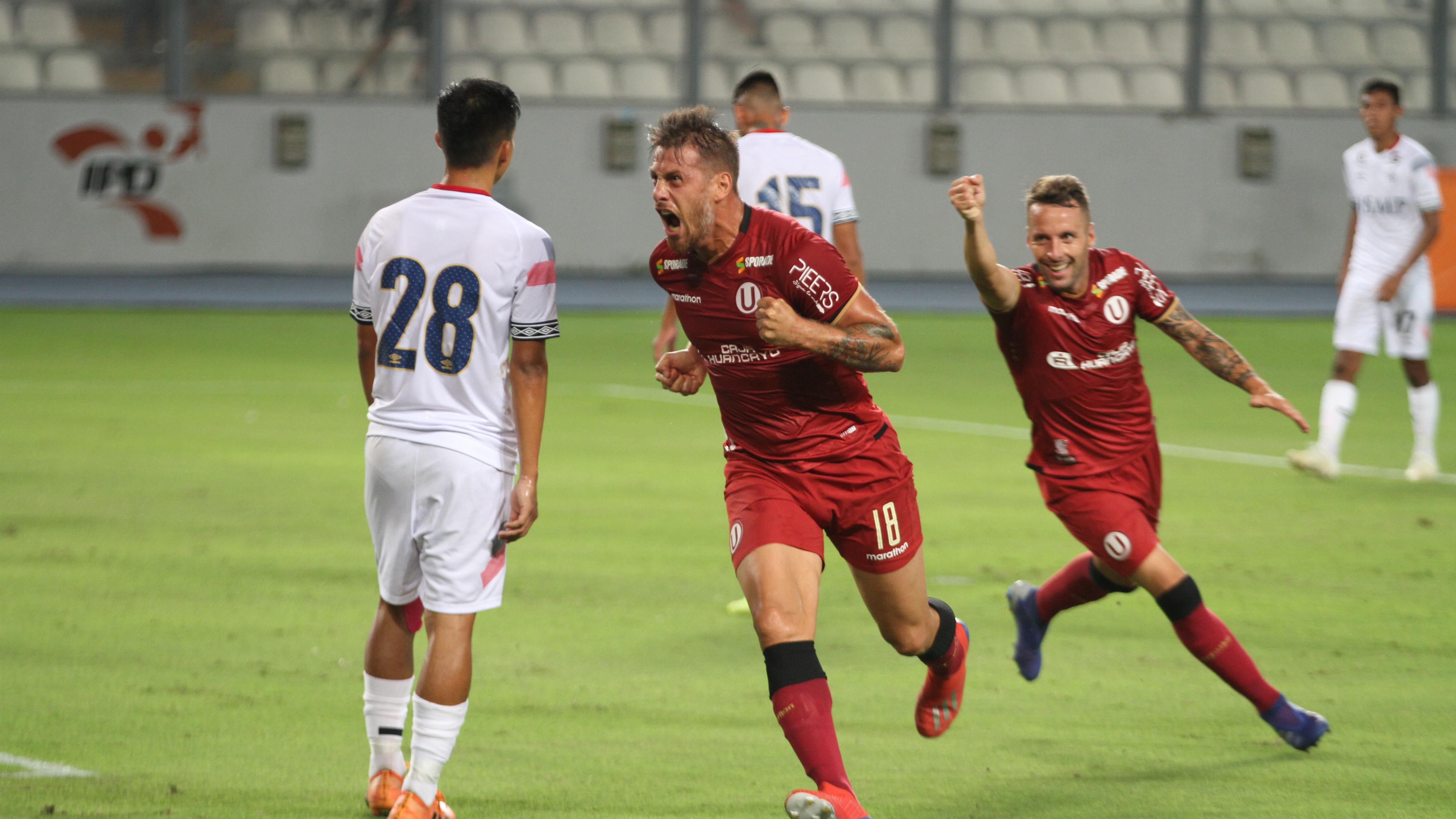 Germán Denis ya tiene cuatro goles la presenta temporada