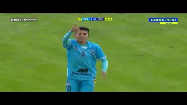 Andy Polar marcó este golazo con Deportivo Binacional.