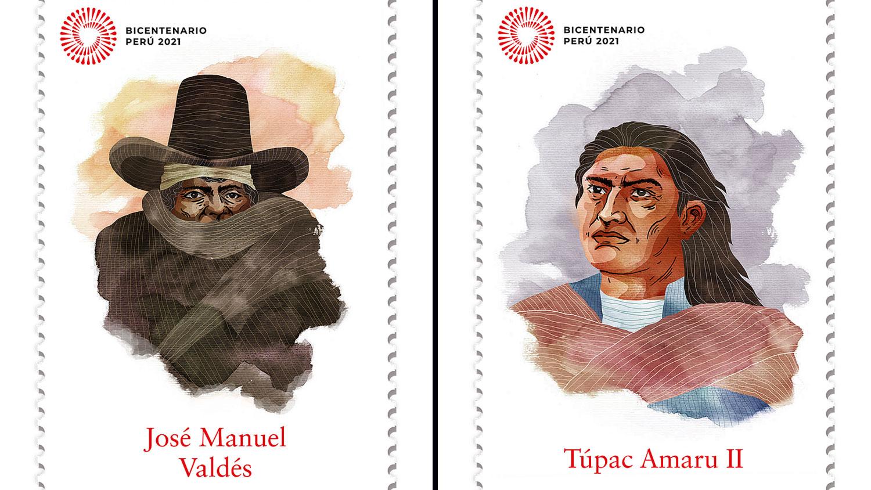 Serpost y Ministerio de Cultura emitirán colección de sellos y matasellos  postales por el Bicentenario [FOTOS] | RPP Noticias