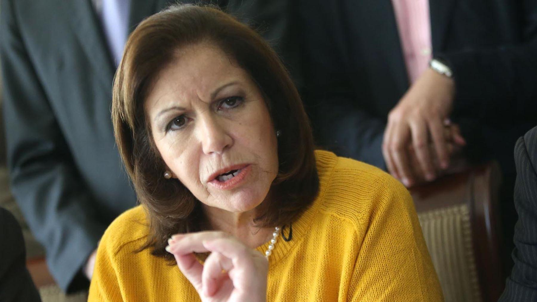 La ex candidata presidencial fue citada por José Domingo Pérez en calidad de testigo.