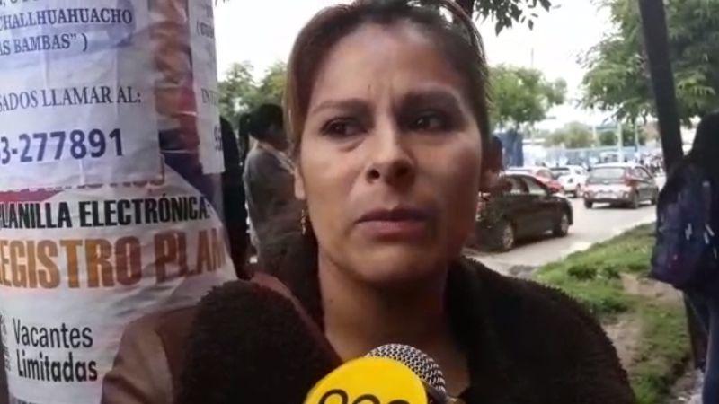La exesposa de la víctima declaró para RPP Noticias.