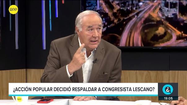 Víctor Andrés García Belaunde estuvo en el programa '¿Quien tiene la razón?' de RPP Noticias.