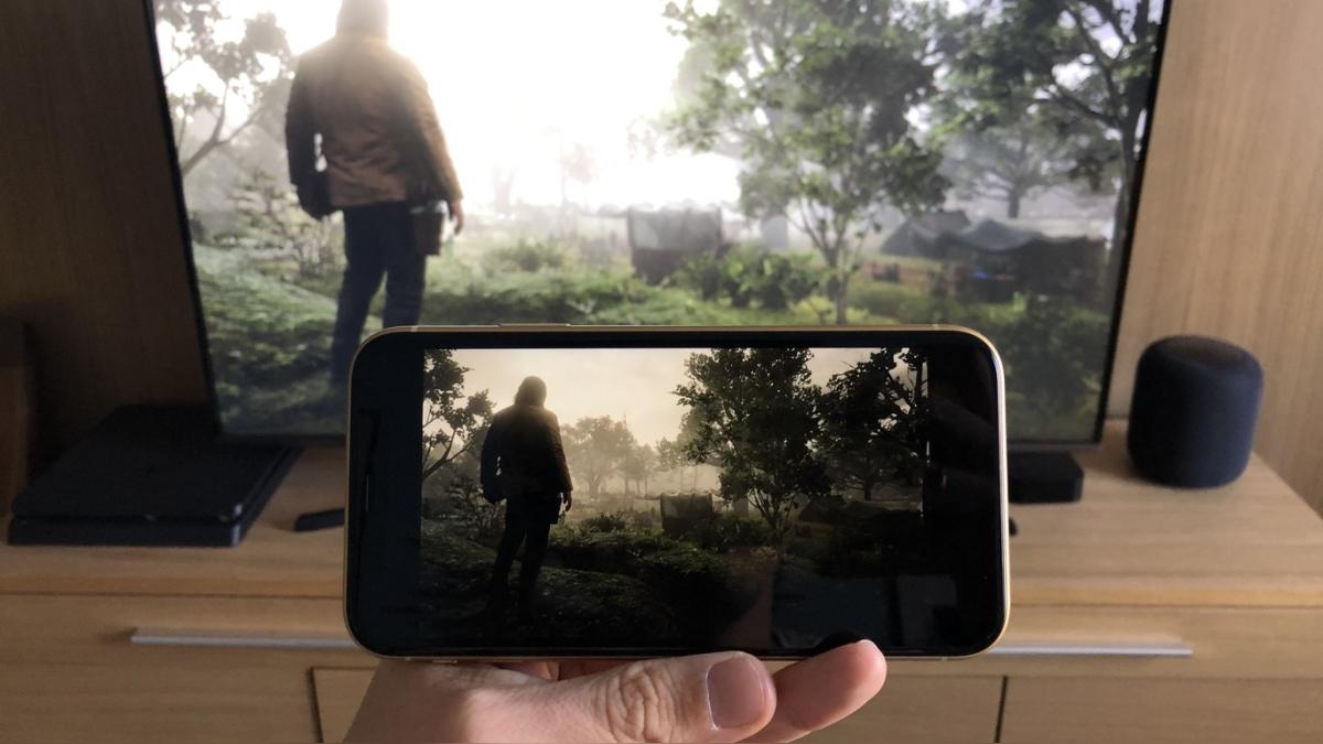 PlayStation 4 en iPhone
