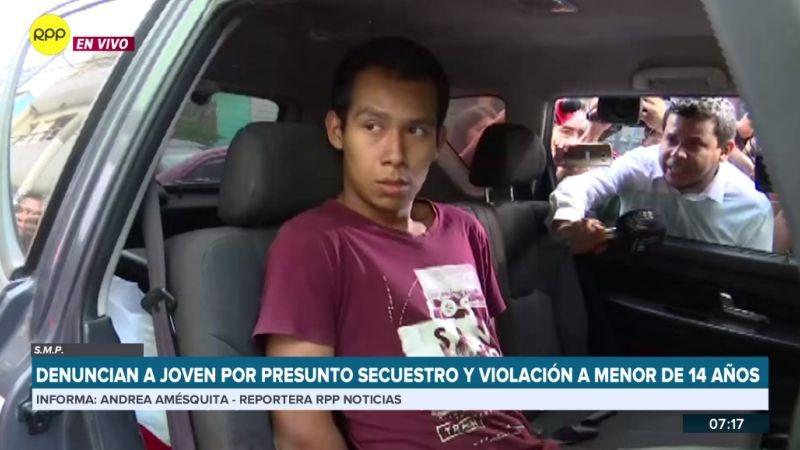 El presunto agresor fue detenido mientras duran las investigaciones.