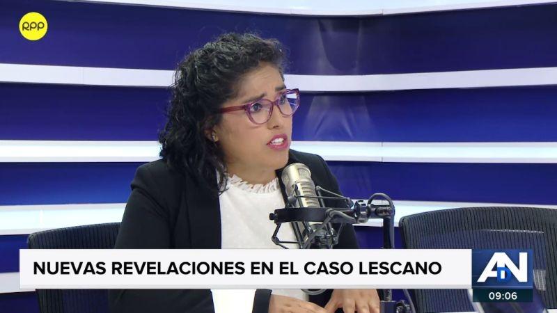 Brenda Álvarez en Ampliación de Noticias.