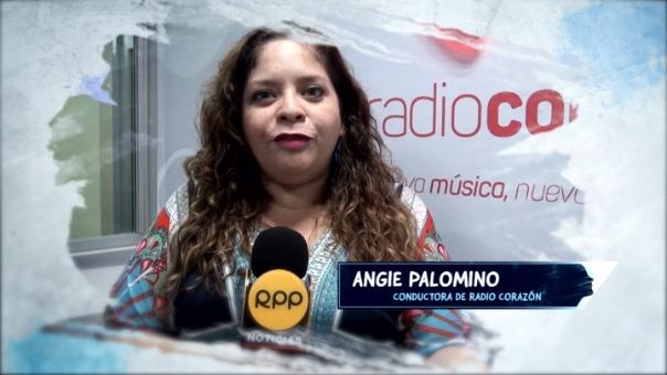 Angie Palomino, conductora de Radio Corazón, contó su testimonio de acoso.