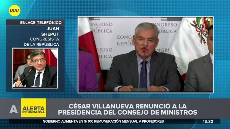 Juan Sheput habló para RPP Noticias.