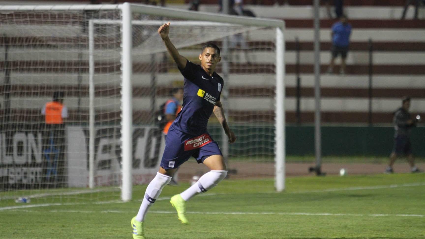 Kevin Quevedo marcó dos goles ante Cantolao