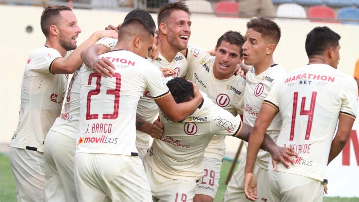 Germás Denis marcó el gol de la victoria de Universitario