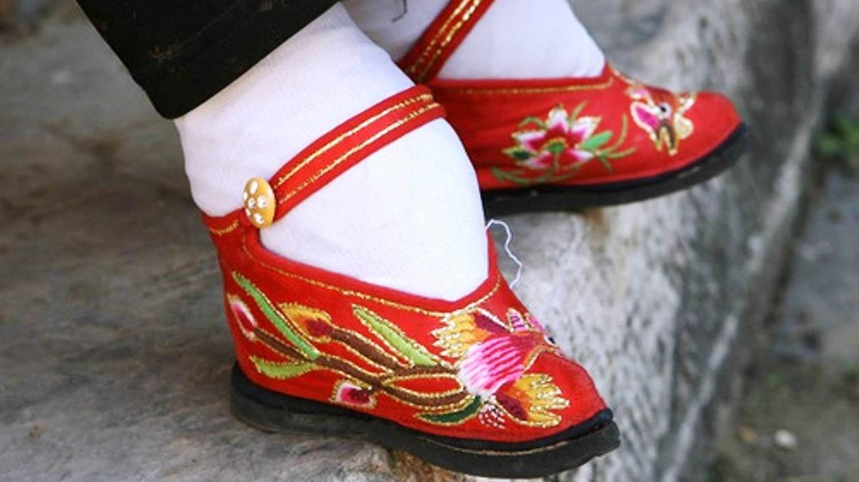 Los pies vendados de China