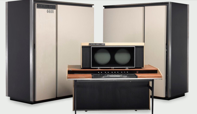 La WWW nació gracias a la Organización Europea para la Investigación Nuclear (CERN). En la imagen una supercomputadora CDC 6600.