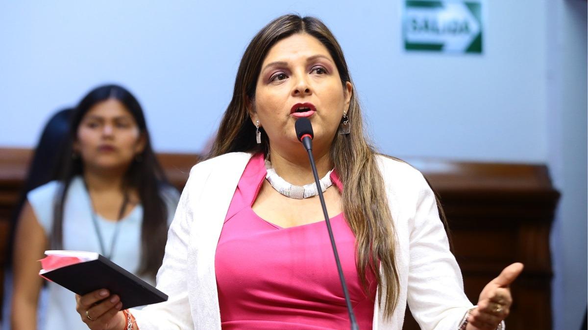 Karina Beteta, congresista de Fuerza Popular.