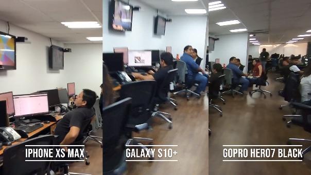 Comparamos la estabilización del iPhone XS Max, Galaxy S10 y GoPro Hero7 Black.