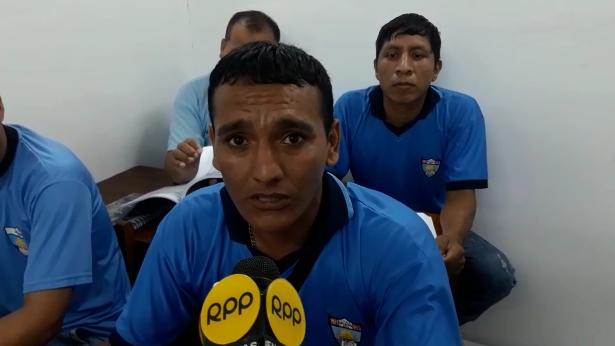 Interno del penal de Chiclayo