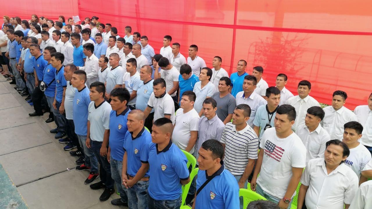 Internos del penal de Chiclayo
