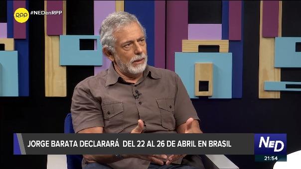 El periodista Gustavo Gorriti dijo que Jorge Simoes Barata arriesga mucho si no dice lo que sabe sobre Alan García.