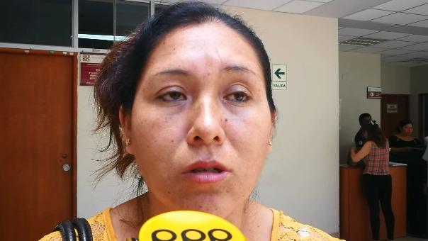 La madre de la víctima espera justicia.