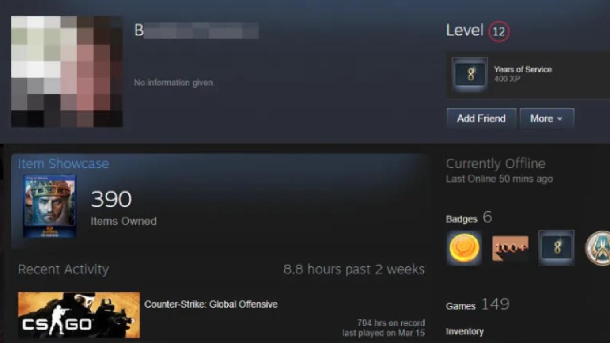 Steam está removiendo los nicknames inadecuados de manera manual.