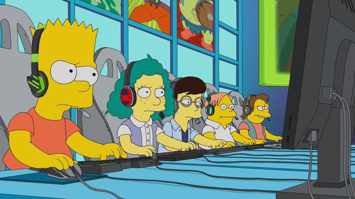 Bart descubrirá su talento para los esports.