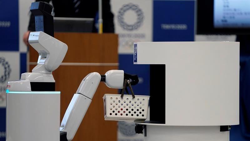"""Con estos robots, Tokio 2020 aspira a convertir la cita olímpica en la """"más innovadora"""" en cuanto a uso de tecnología."""