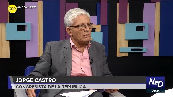 Jorge Castro en entrevista con Nada Está Dicho por RPP Noticias.