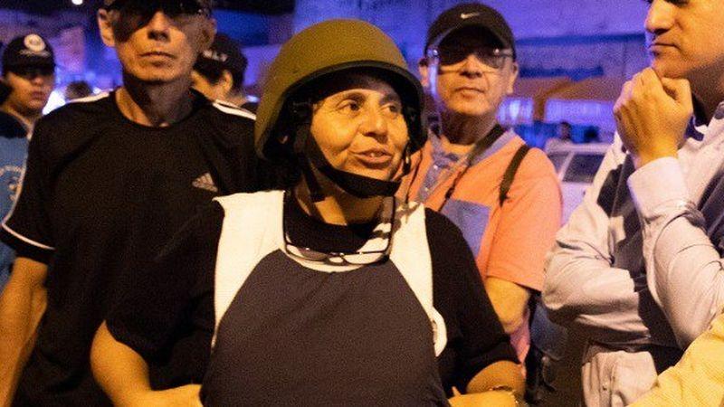 Susel Paredes ha pedido garantías ante esta amenaza.