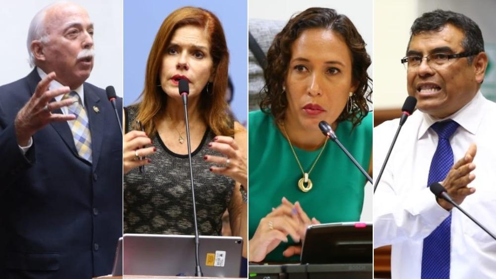 Parlamentarios de diversas bancadas se pronunciaron respecto a denuncia en contra de congresista