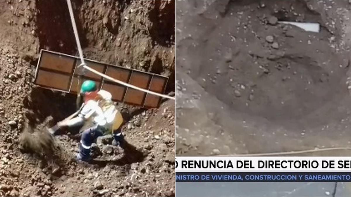 En declaraciones a RPP Noticias mostró imágenes de las obras realizadas días previos a producirse el aniego y cómo se produjo lo que llamó una