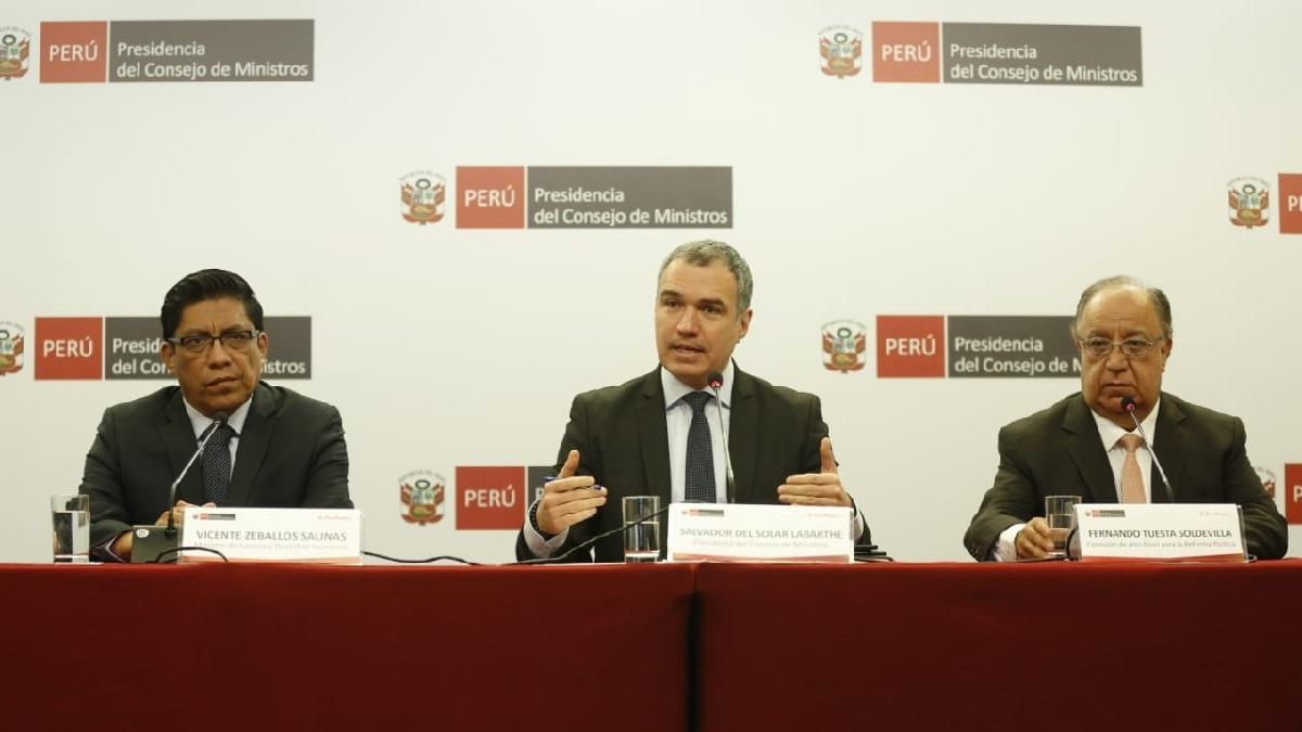 Informe que presentó la comisión ante el Consejo de Ministros será público.