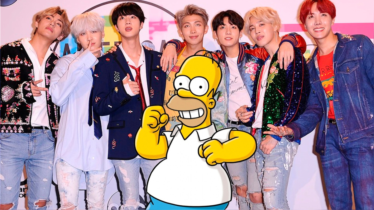 Los Simpsons homenajean a la BTW Army.