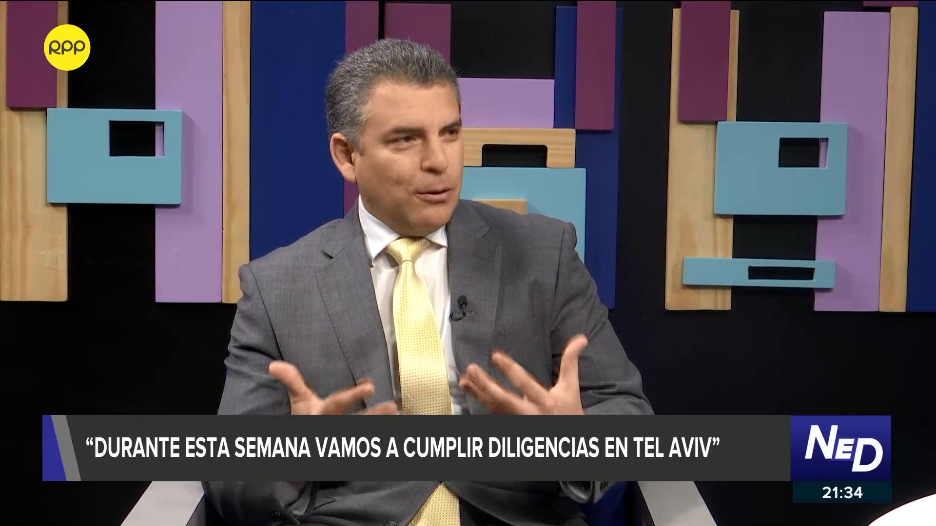 El fiscal Vela comentó que pasarán a la acusación en el caso Ecoteva.