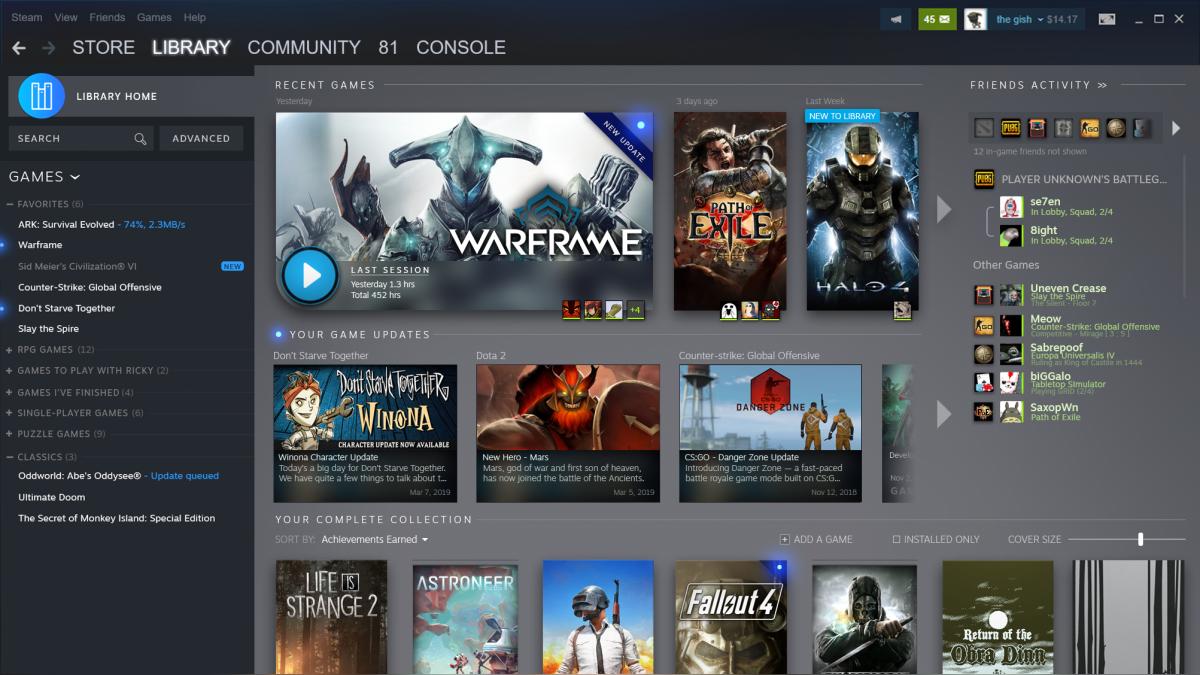 Así se verá la nueva versión de Steam, ¿la tienda digital responde ...