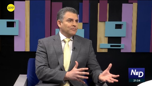 Rafael Vela señaló que la interpelación al ministro Vicente Zeballos está