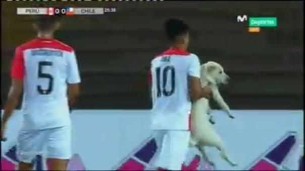 Selección Peruana ante Chile.