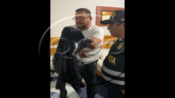 Detención de Jorge Martín Chávez Sotelo.