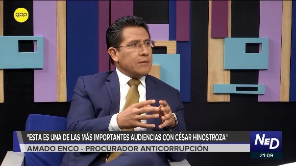 Procurador Amado Enco en el programa Nada Está Dicho en RPP Noticias.