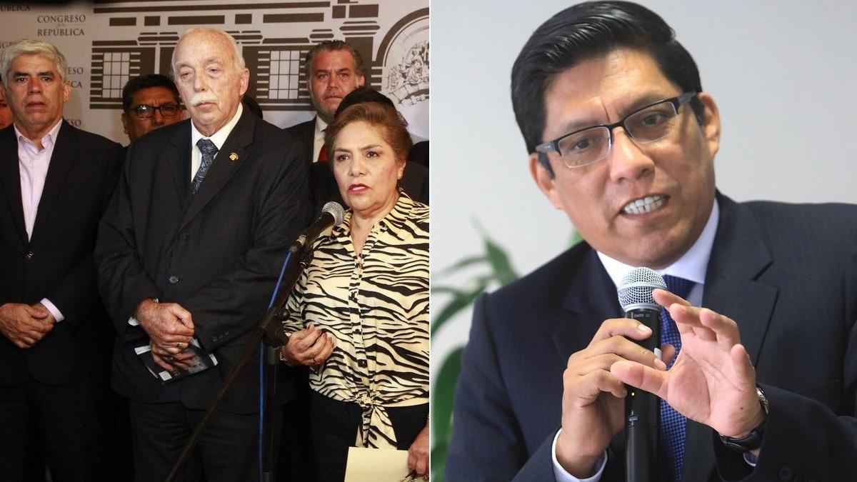 Carlos Tubino, vocero de Fuerza Popular, anunció que no promoverán una censura.