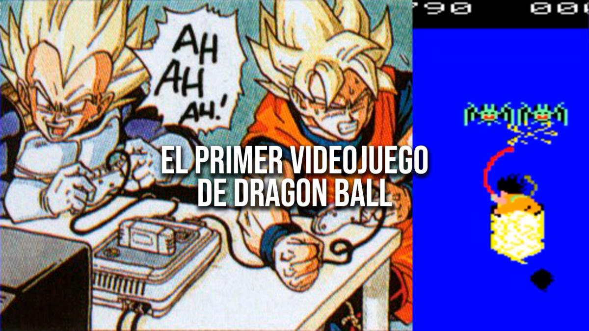 Así fue el primer juego de Dragon Ball.
