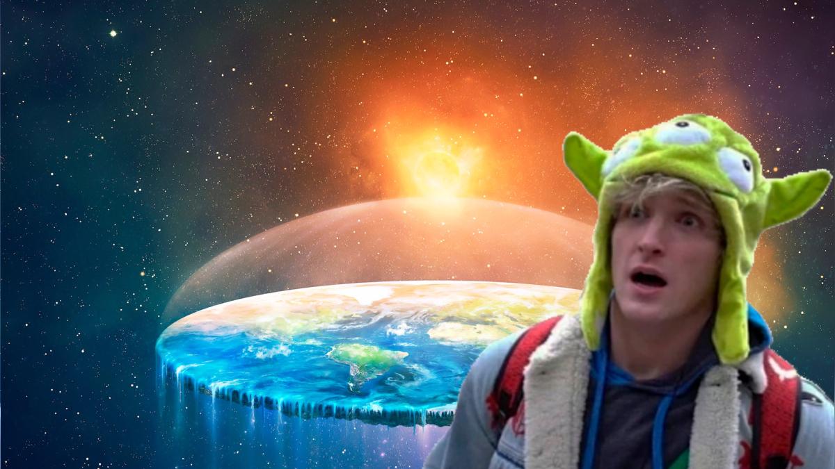 ¿Logan Paul es en verdad un terraplanista?