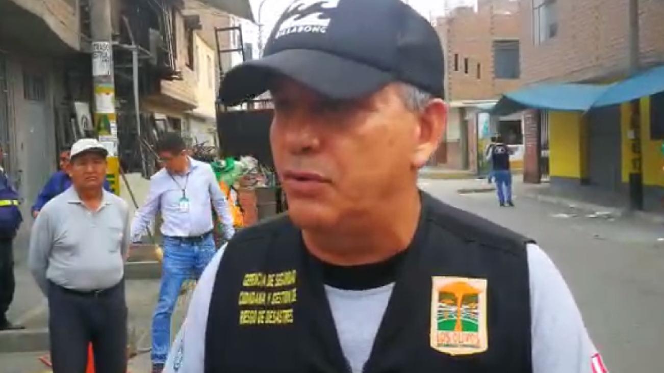 El excandidato a la alcaldía de Lima asumió el cargo de gerente de seguridad ciudadana de Los Olivos y reveló esta información tras liderar un operativo en una de las zonas críticas del distrito.