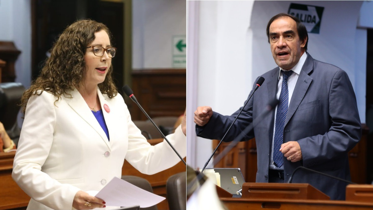 Lescano criticó lo dicho por la congresista, quien dijo que el presidente busca confrontación para tapar